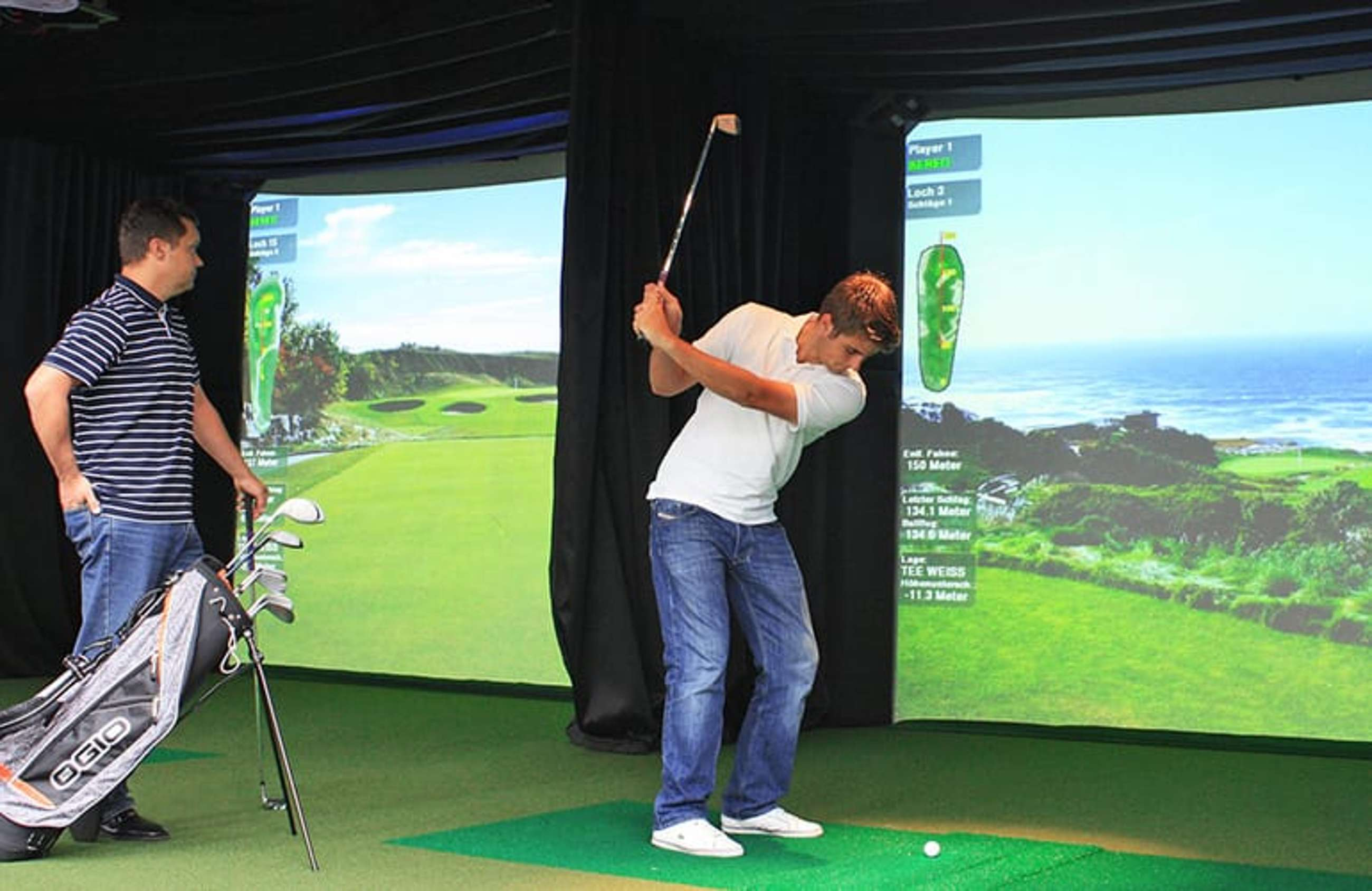 High-Definition Indoor Golf - The Golfers - Indoorgolf in Malans